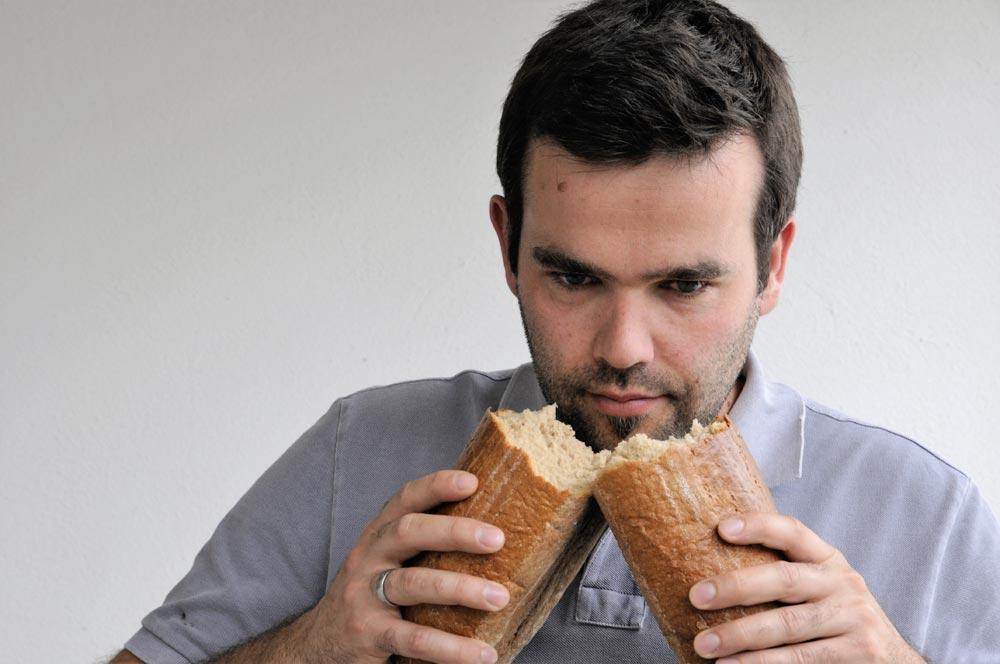 Entkoppelte Ernährung können Sie schimmeliges Brot essen